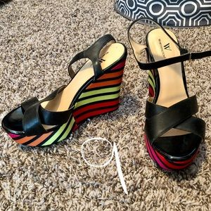 Shoes - Women's wedges. Worthington, Madden and Guess